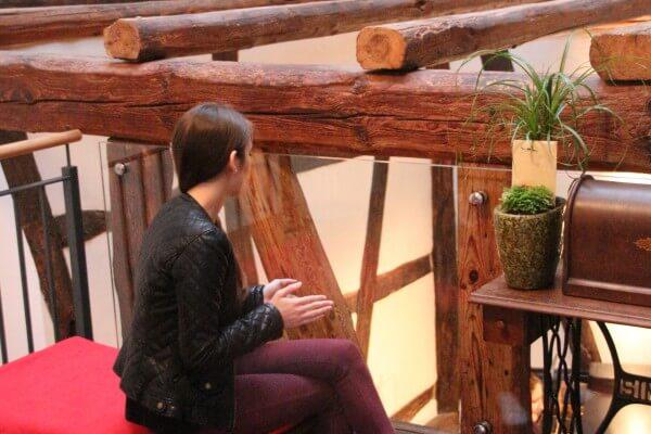 Besucherin in Christels Scheune Hanau Persönlichkeitstraining Coaching