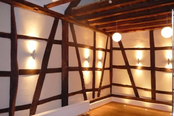 Beleuchtung in Christels Scheune Hanau Persönlichkeitstraining Coaching