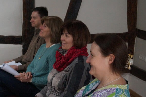 Seminarteilnehmer in Christels Scheune Hanau Training Coaching