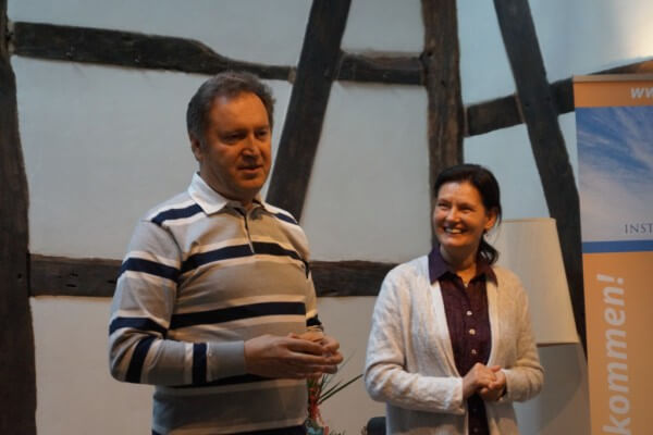 Tatyana und Georgi Jerkov in Christels Scheune Hanau Training Coaching