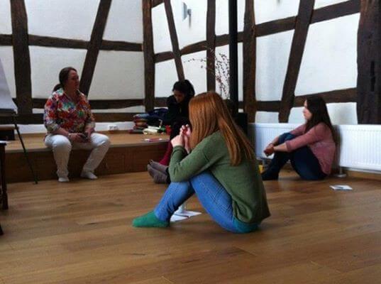 Teilnehmer beim Lebensplanseminar in ChristelsScheune Hanau
