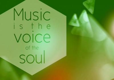 Plakat Musik ist Seelensprache in Christels Scheune Hanau