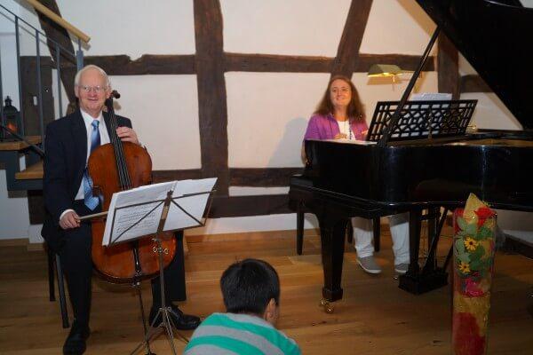 Kammermusik in Christels Scheune Hanau