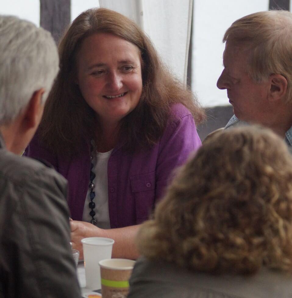 Christel Veciana Coaching Zeit für Gespräche