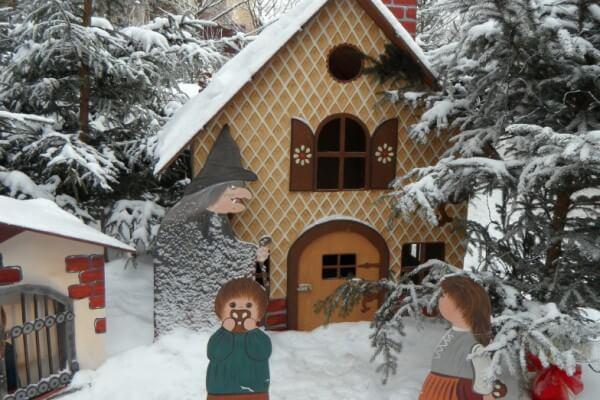 Hänsel und Gretel Aufführung in Christels Scheune Hanau Kindermusiktheater