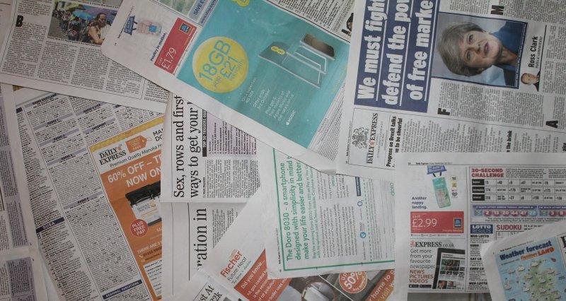 Zeitungen Bild zum Blog von Christels Scheune