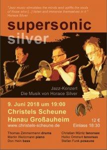 Jazzmusiker der Gruppe Supersonic Silver