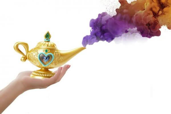 Wunderlampe als Symbol für Magie Blogartikel Christels Scheune Coaching Hanau