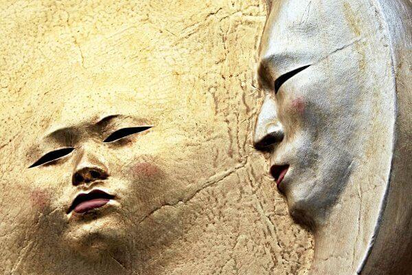 Gesichter als Symbol für Bewusste Realitätsgestaltung Christels Scheuene Hanau Coaching Persönlichkeitsentwicklung