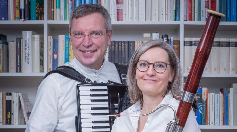 U.Fröhling Fagott und K. Peter-Horas Akkordeon