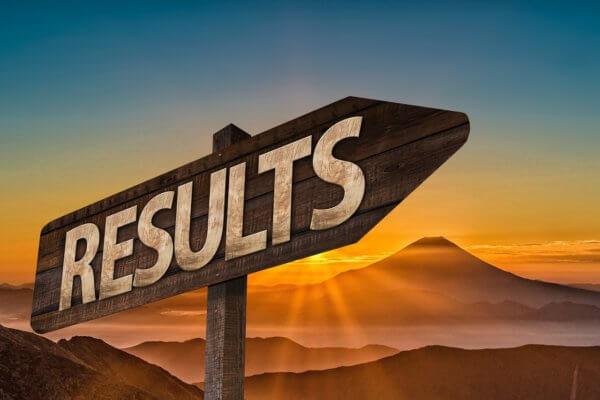 Schild Results für Blogbeitrag über Erfolg Christels Scheune Coaching Hanau