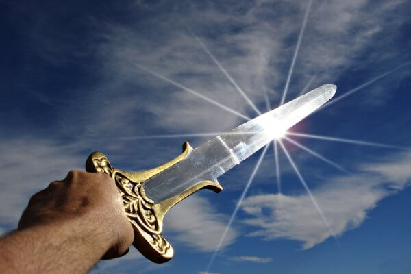 Schwert als Symbol der Klarheit ChristelsScheune Hanau Coaching